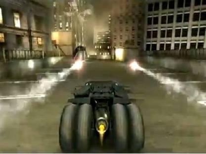 Batmóvel do Batman Begins de PS2