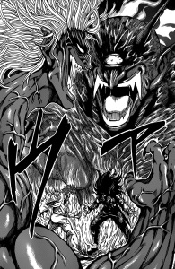 Toriko_and_Starjun_auras_clash