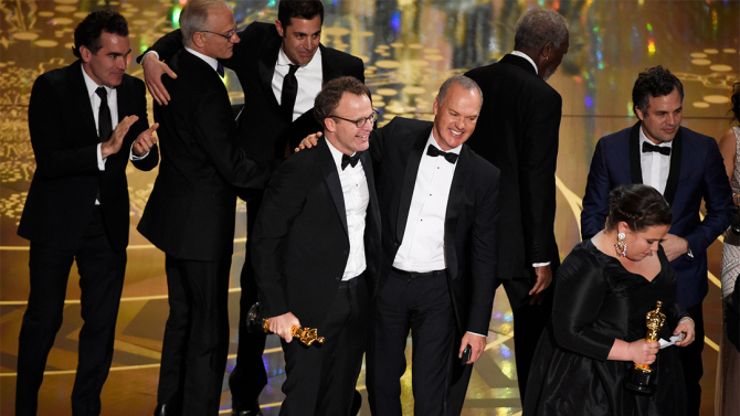 Tom McCarthy, Michael Keaton