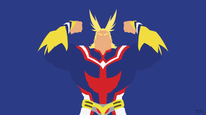 toshinori_all_might__minimalist__by_rendracula-d9yvpx2